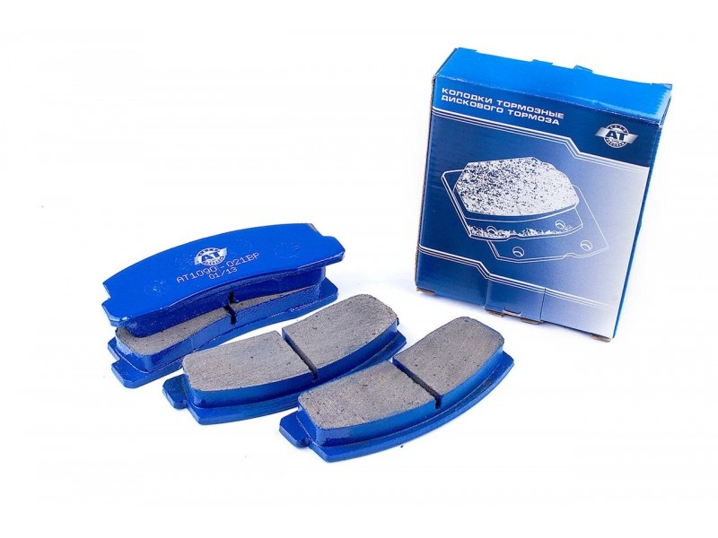 Колодки гальмівні дисковые АТ AT 1090-021BP