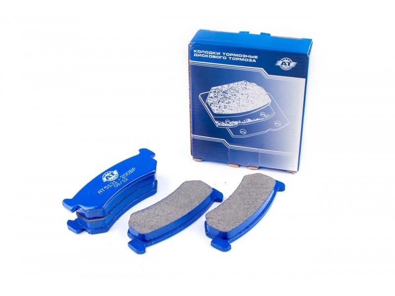 Колодки тормозные дисковые АТ 5131-200BP